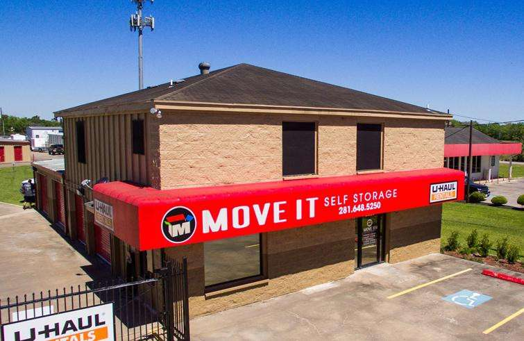 Location Image & Details for Move It Self Storage - Pearland